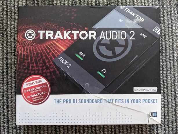 DJ external sound card