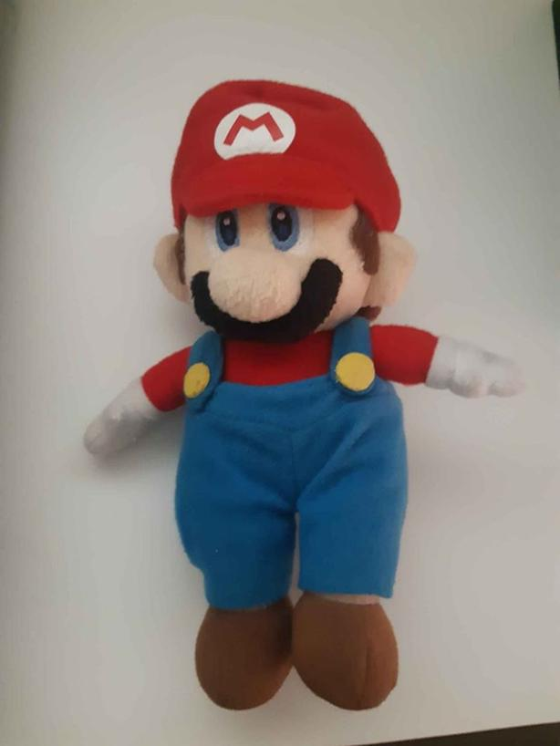 extremely rare Mario Party 5 Mario plush