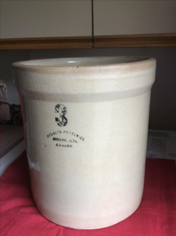 VTG Medalta Pottery Stone Crock