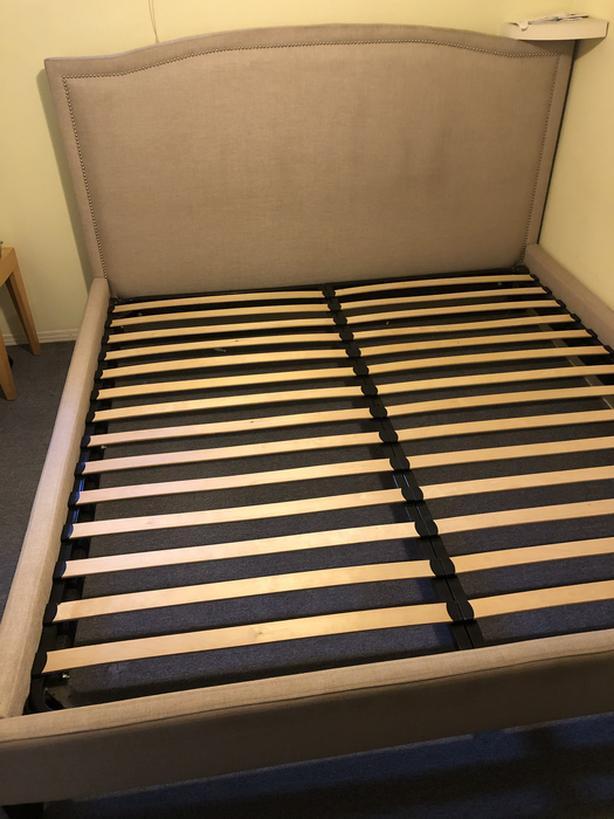 URBAN BARN king size bed frame