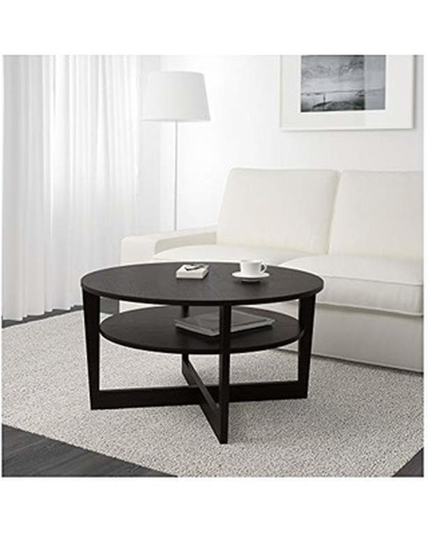 Round Ikea Vejmon Coffee Table