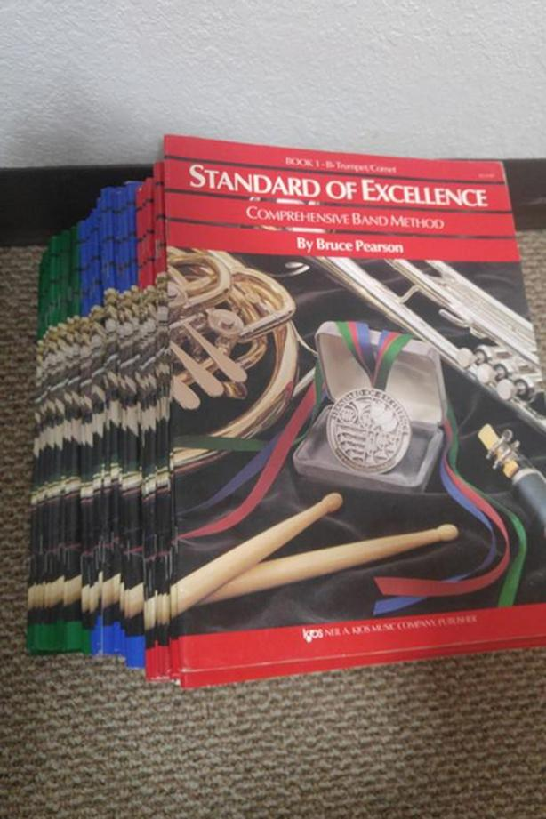 Collection of Standard of Excellence Books