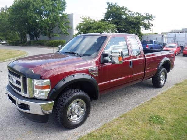 2008 Ford F-250 SD XLT SuperCab 8 Foot Box 4WD Diesel