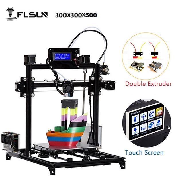 A EXCELLENT FLSUN i3 - 3D PRINTER 300 X 300 X 500 - IRON BRIDGE