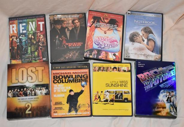 Random DVD TV/Movie Lot
