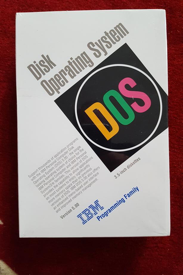 NEW 1991 DOS disk operating system