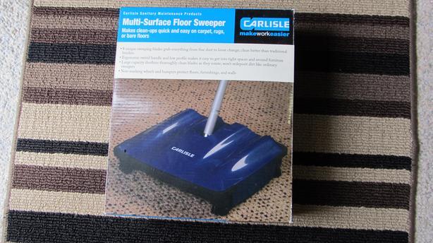 Multi Surface Floor Sweeper