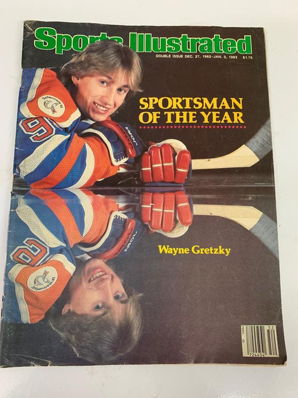 Wayne Gretzky 1982 sports illustrated