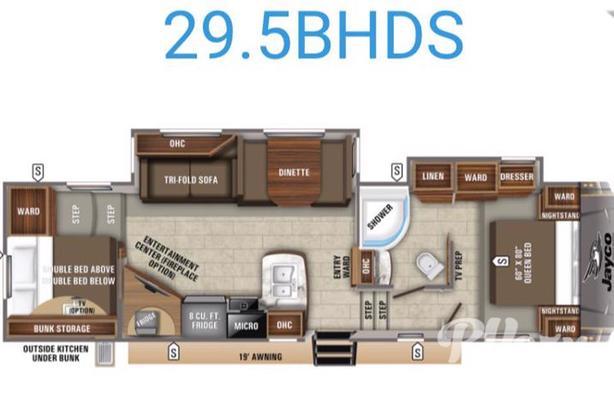 Eagle HT 29.5BHDS (Rent  RVs, Motorhomes, Trailers & Camper vans)