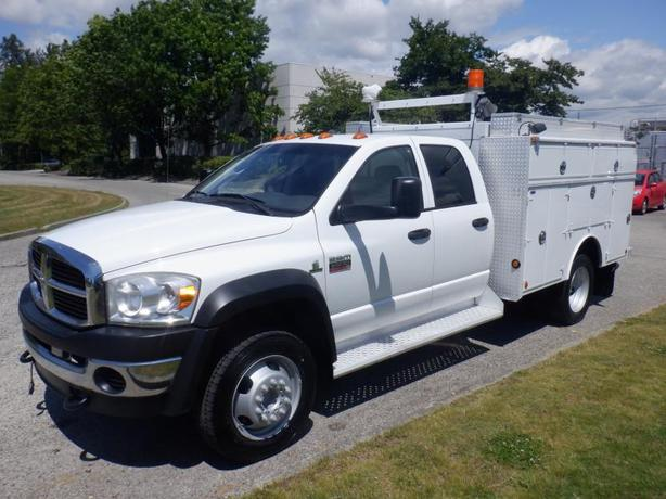 2008 Dodge Ram 5500 Service Truck 2WD Dually Diesel
