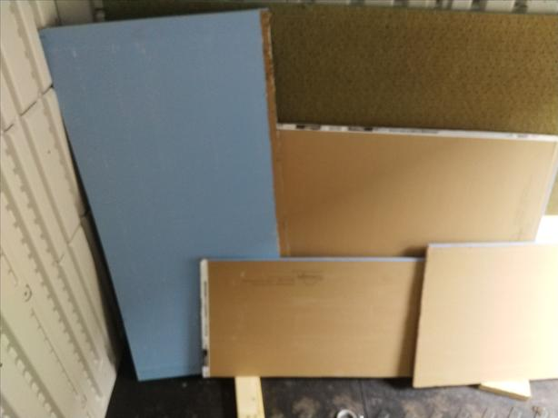 Mold resistant drywall