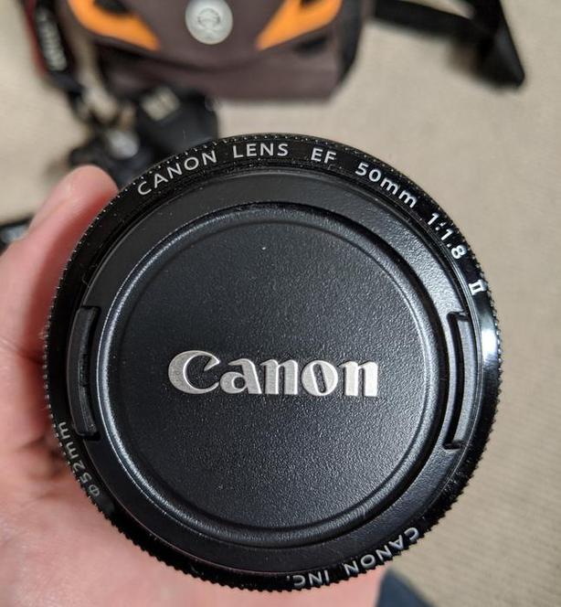 Canon 50mm portrait lens