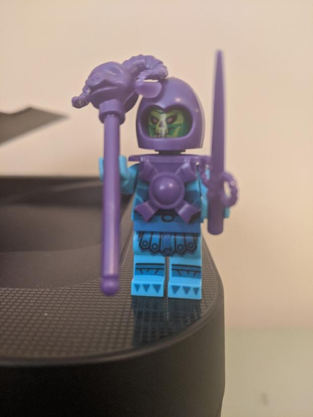 Skeltor brick builder figure Motu