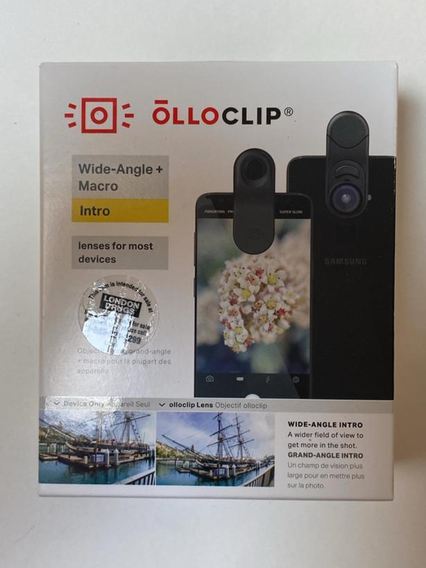 OLLOCLIP Multiple Device Wide-Angle + Macro Lenses