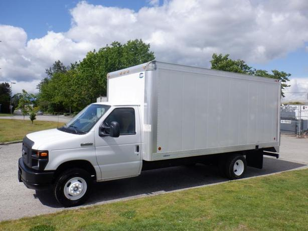 2016 Ford Econoline E450 16 Feet Cube Van With Ramp