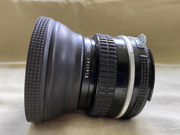 Nikkor 50MM Manual Lens