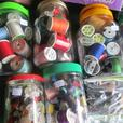 THREAD AND BUTTONS FROM ESTATE