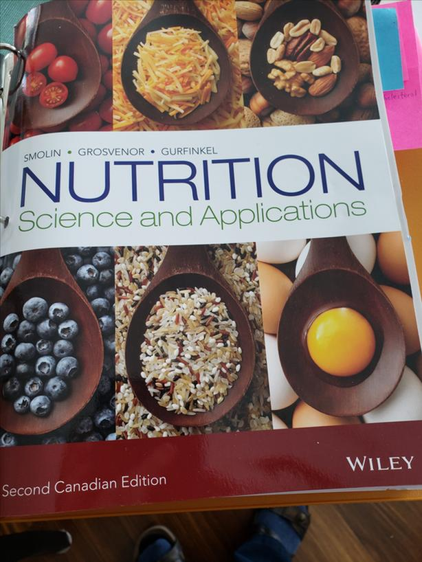 Nutrition - Science and Applications