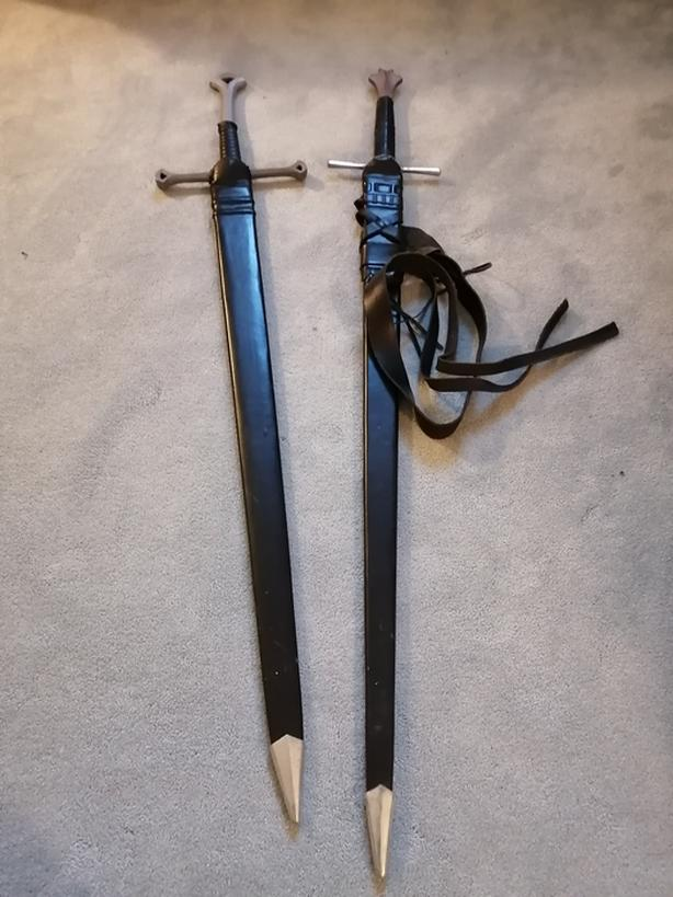 Medieval Swords - Anduril and Longsword
