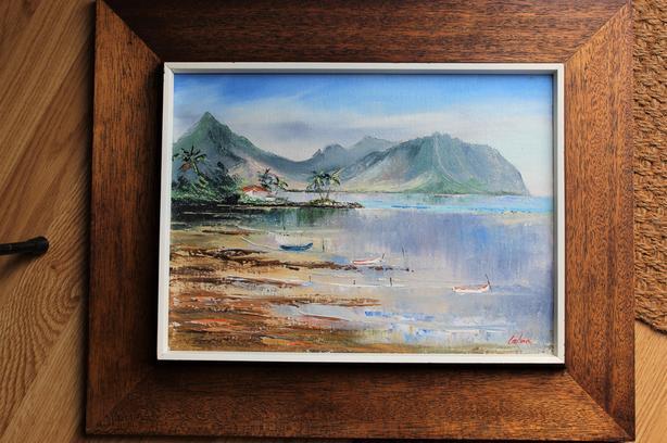 Louise Alina (Lalina) oil painting Kalaluu