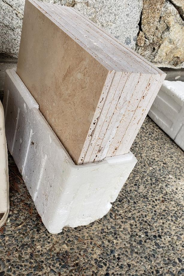 Price drop: Travertine marble and tile