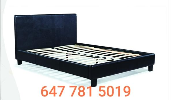 BRAND NEW LEATHER PLATFORM BEDS ON SALE NOW 4168847334