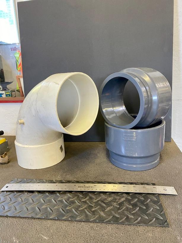 6 INCH PVC Fittings