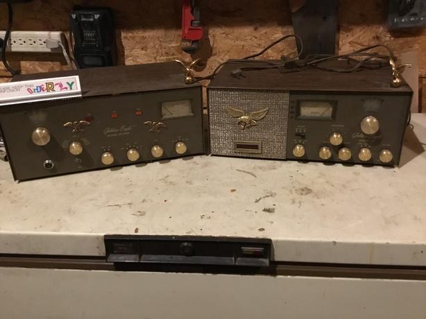 Golden Eagle Mark III CB SSB base station for parts