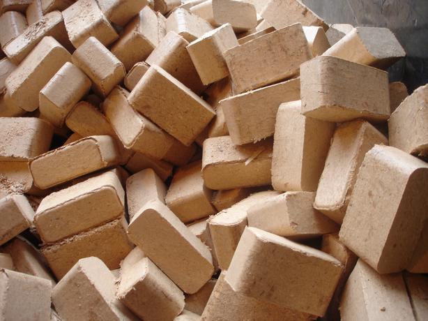 Firewood bricks