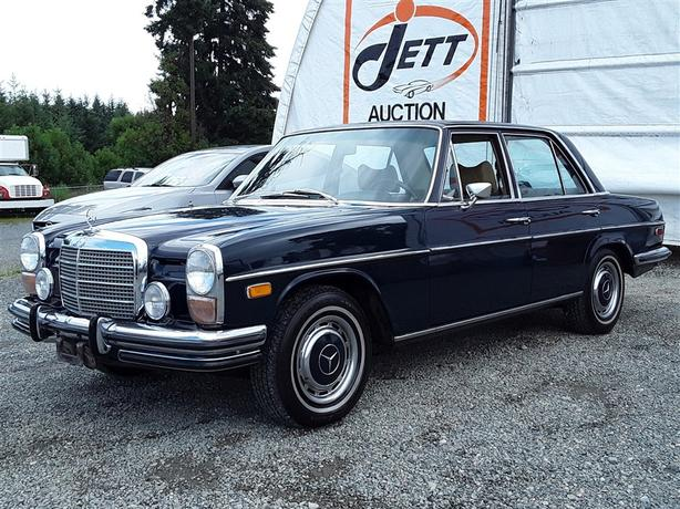 "1973 MERCEDES 280  """"No Reserve Live & Online Auction """""