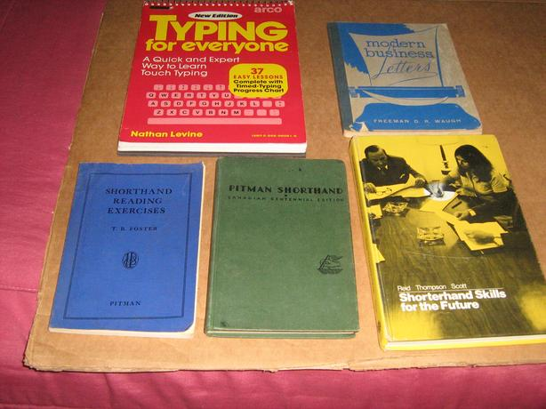 FREE - TEXTBOOKS FOR SHORTHAND AND TYPING