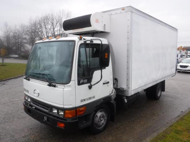 2003 Hino FB1817 Cube Van 16 Foot Box Reefer Diesel