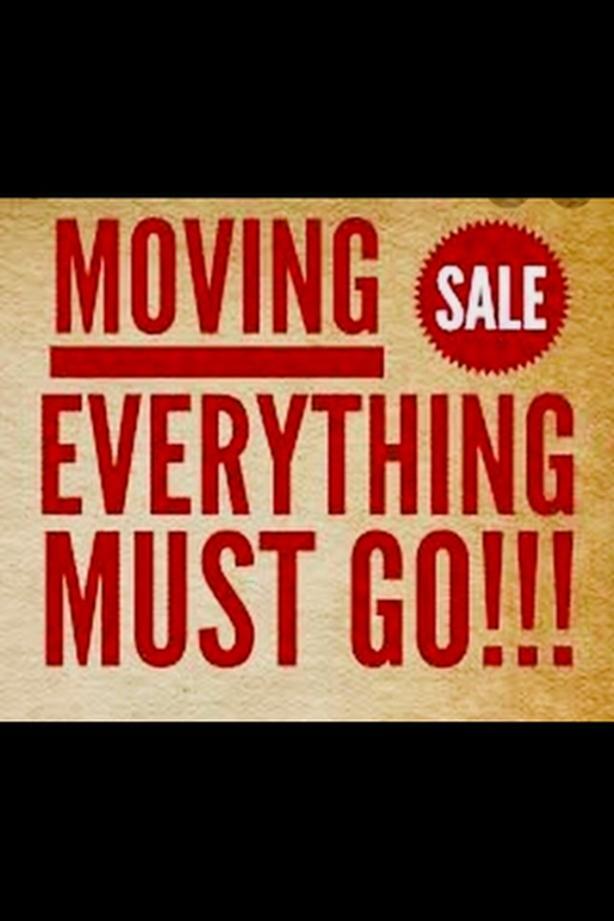 Massive Moving Sale