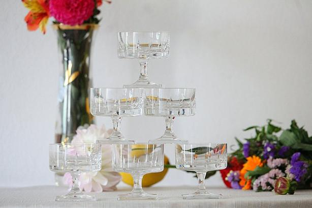 1960s Rosenthal Crystal Glasses (6)