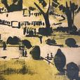 "Herbert Siebner Hand Print 1/24 ""Paris"""