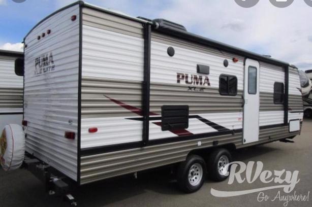 Puma  (Rent  RVs, Motorhomes, Trailers & Camper vans)
