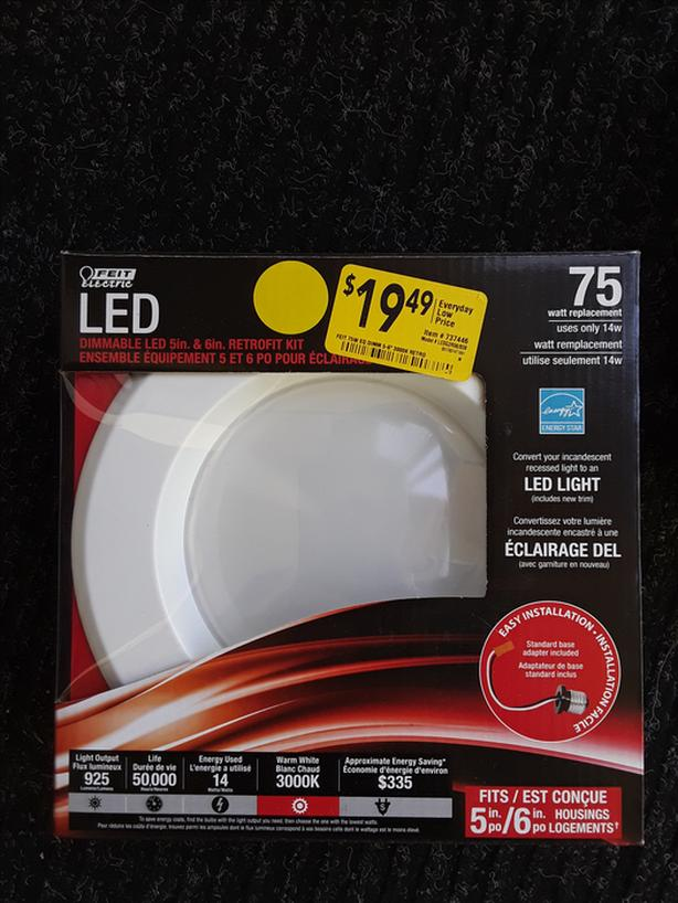 Dimmable LED Retrofit Kit