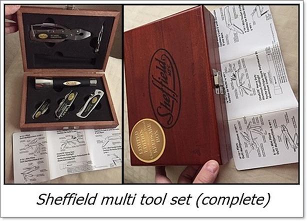 2 Sheffield Multi tools $30 each