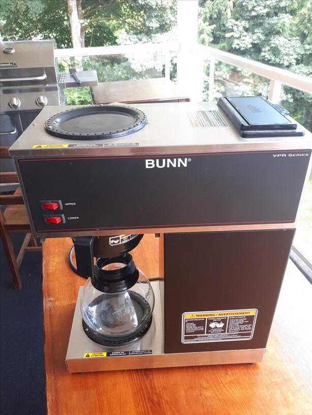 Bunn® Industrial 2 Burner Coffee Maker (new $495)
