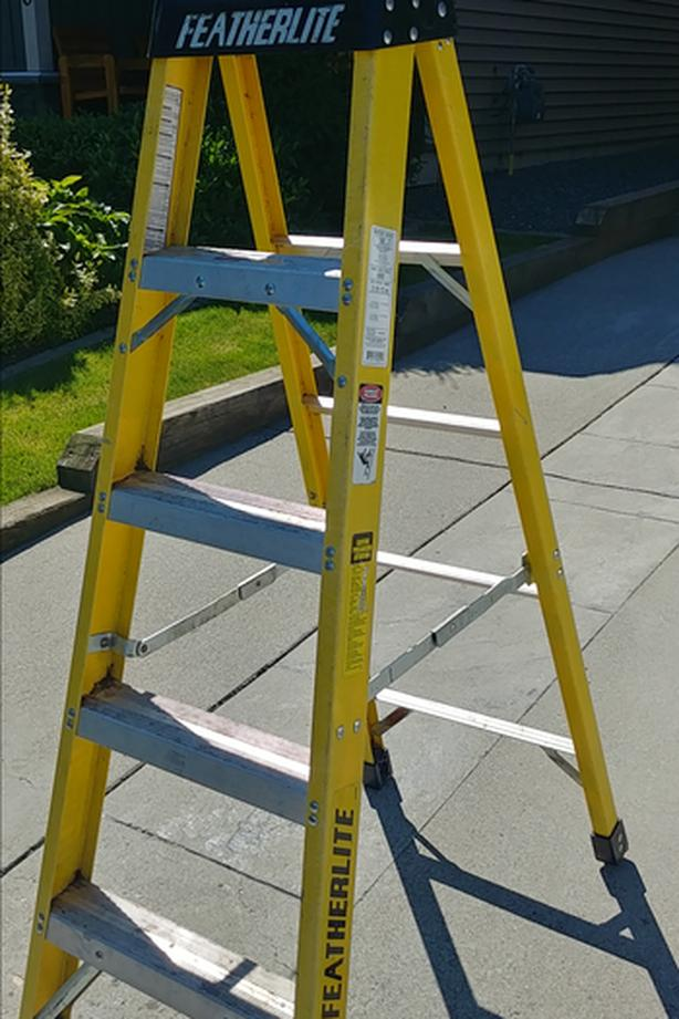 5' Featherlite commercial ladder
