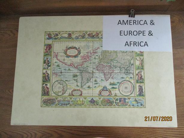 ANTIQUE MAP PRINTS