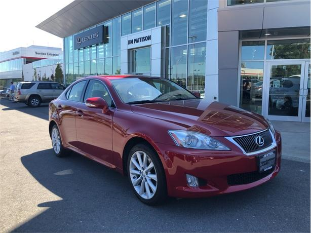 2010 Lexus IS 250 Leather With Moonroof and Navigation Package