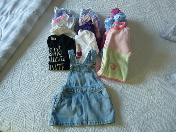3-6 month baby girl lot