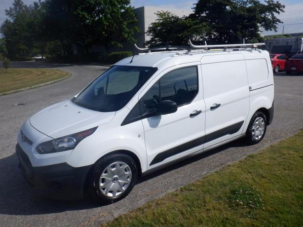 2017 Ford Transit Connect Cargo Van XL LWB Cargo Van with Shelving and Ladder Ra