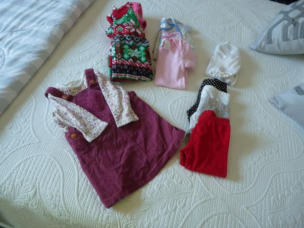 6-9 month baby girl lot