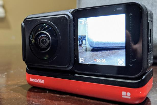 Insta360 One R with 360 and 1 Inch mod (Leica)