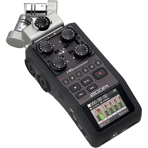 Zoom H6 6-Track Portable Recorder