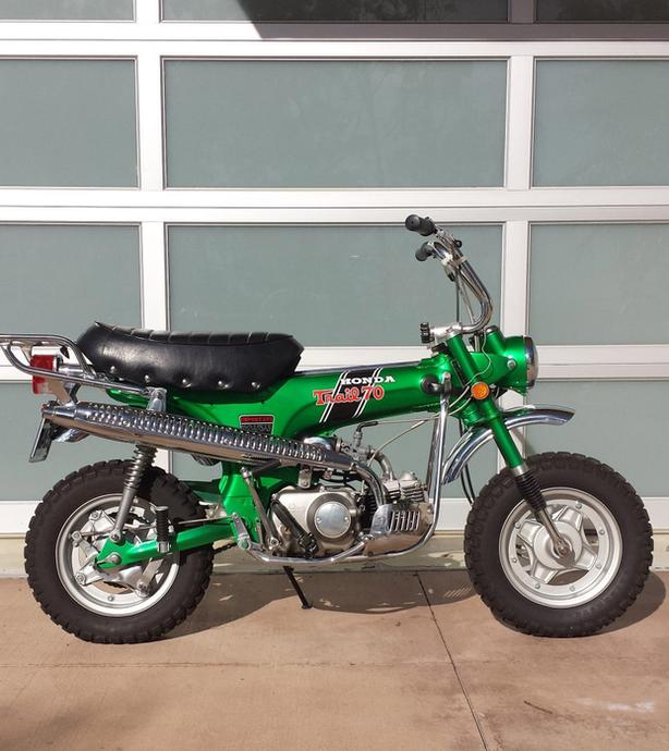 WANTED: Honda CT70