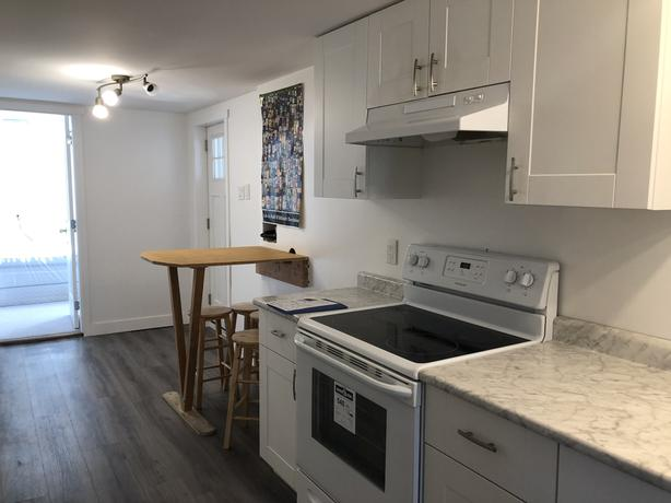 Furnished 3 bedrooms 1 bathroom suite near UVic - Available immediately