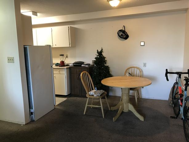 Big room is available in a spacious apartment
